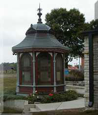 Gazebo on the Riverwalk