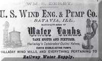 Water Tank Advertisement